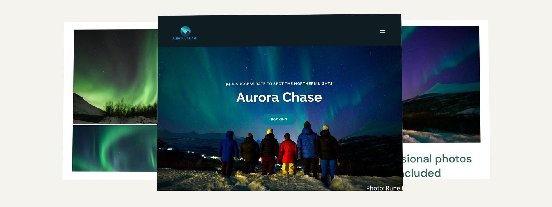 Nettside Aurora Chase