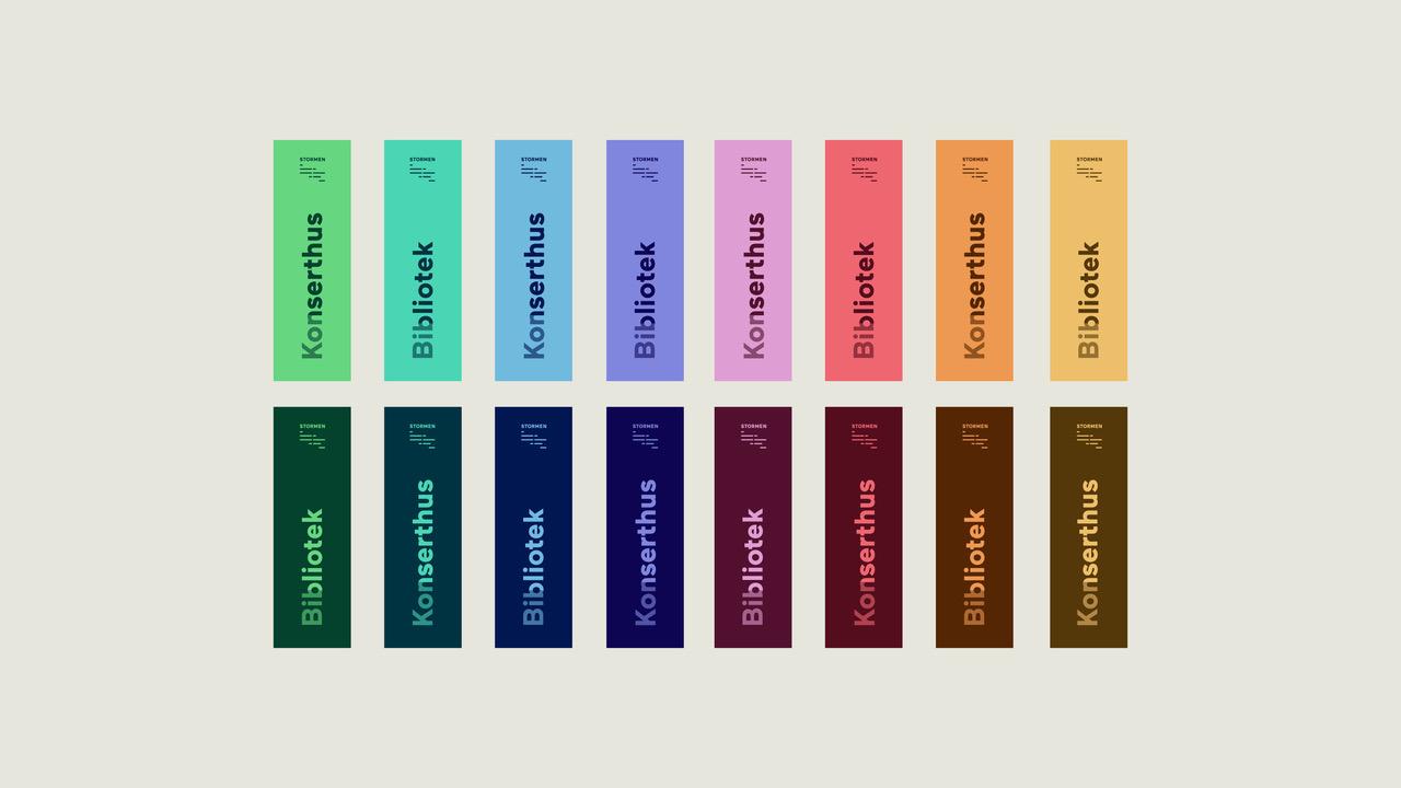 Variasjon Stormen fargeprofil